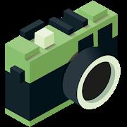 Aplicacion fotográfica efecto 8 bits y glitches